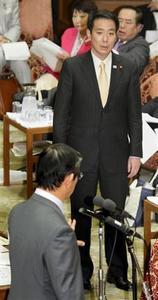 前原誠司逆ギレ!指名されてないのに答弁席に近づいて、なぜか仁王立ち!